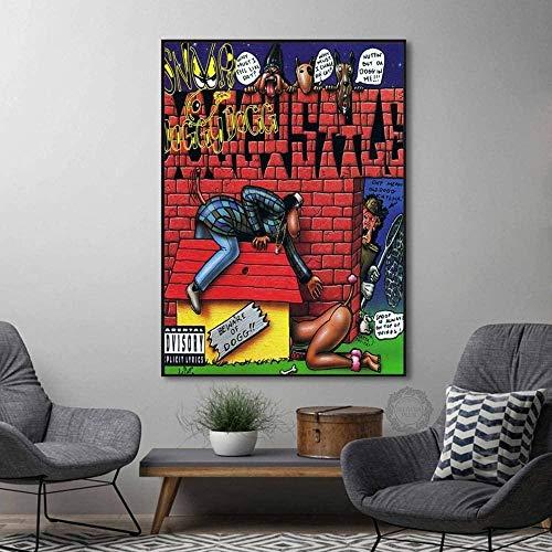 ZZFJF - Puzles de madera para adultos, álbum de música Rap Hip Hop Art pintura pintura pintura artística educativa intelectual Mpressing juguete puzles de madera 75 x 50 cm