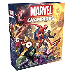 Best Solo Strategy Board Games marvel champions box