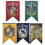 LawUza Hogwarts-Hausfahnen fürs College, 125 x 75 cm Gryffindor