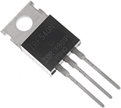 Bridgold 10pcs IRF540 IRF540N TO-220 MOSFET Transistor N Channel, 33 A 100 V,3-PIN