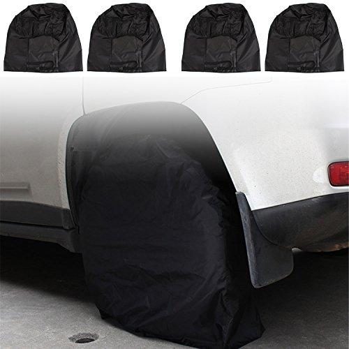 1pc Tire Cover Pack RV Wheel Trailer Camper Car Truck Sun Protector Waterproof