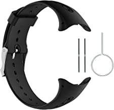 QGHXO Band for Garmin Swim, Soft Silicone Replacement Watch Band Strap for Garmin Swim Watch (No Tracker)