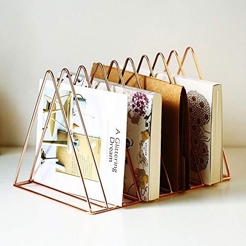 Hpiyig Golden Triangle opslag kranten rek Room restaurant decoraties plank slaapkamer huis smeedijzeren boekenkast driehoek krant placement rek