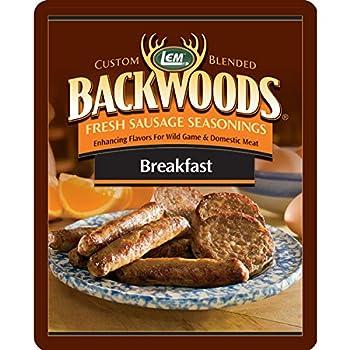 Lem BACKWOODS BREAKFAST FRESH SAUSAGE SEASONING  Seasons 5 Pounds Of Meat