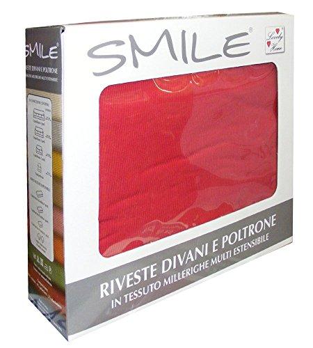 COPRIPOLTRONA 1 POSTO SMILE LOVELY HOME FINO A 100CM (bordeaux)
