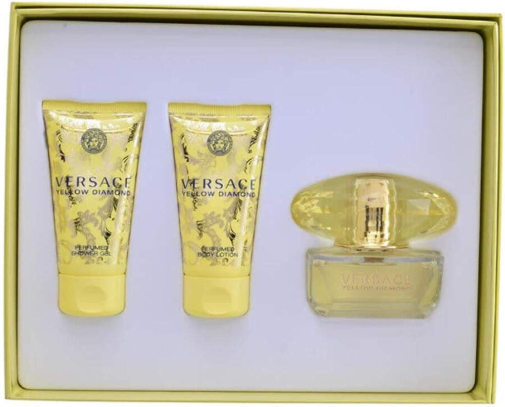 Versace, set da donna, 150 ml 8011003843671