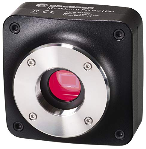 Bresser MikroCamII Full HD HSP Hochgeschwindigkeitskamera Bresser MikroCamII Full HD HSP Hochgeschwindigkeitskamera für Mikroskopie mit bis zu 120 Bildern pro Sekunde