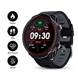 GOKOO Smartwatch, Herren Männer Fitness Tracker 1,3 Zoll Voller Touch Screen Bluetooth Armbanduhr...