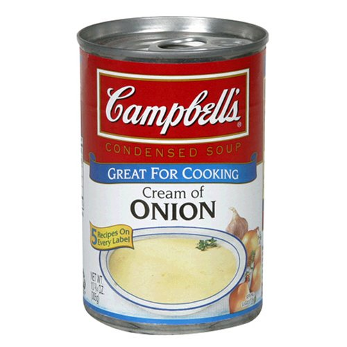 Campbell's Soup Cream of 10.7500-ounces Onion All stores are sold Pack Deluxe of12