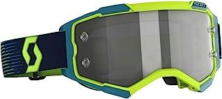 Scott Fury LS MX Goggle Cross/MTB Brille gelb/blau/Light Sensitive grau Works