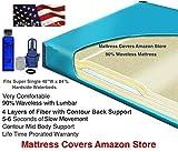 U.S. Water Super Single 90% Waveless Waterbed Mattress