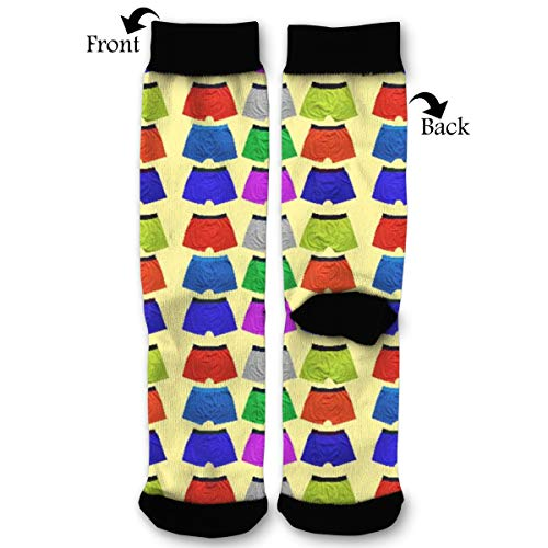 Colorful Underwear Comfort Sport Compression Crew Socks Best Graduated Athletic,Running,Flight,Travel For Women & Men