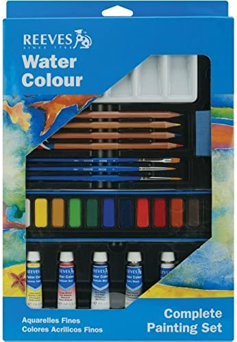Reeves Watercolour Complete Painting Set by Reeves
