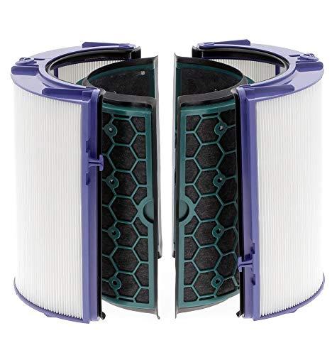 Filtro HEPA y carbón activo para purificador de aire Dyson HP04 TP04 DP04, Dyson Pure Hot+Cool, 969048-02