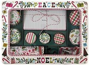 Meri Meri Merry And Bright Cupcake Gift Set