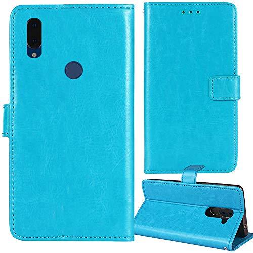 Lankashi Premium Retro Business Flip Book Stand Brieftasche Leder Tasche Schütz Hülle Handy Handy Hülle Für ARCHOS Oxygen 57 5.71
