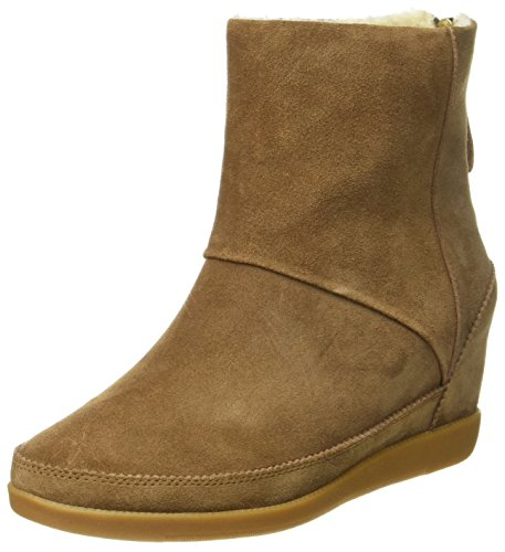 Shoe The Bear Damen Emmy FUR Stiefel, Braun (130 Brown), 39 EU