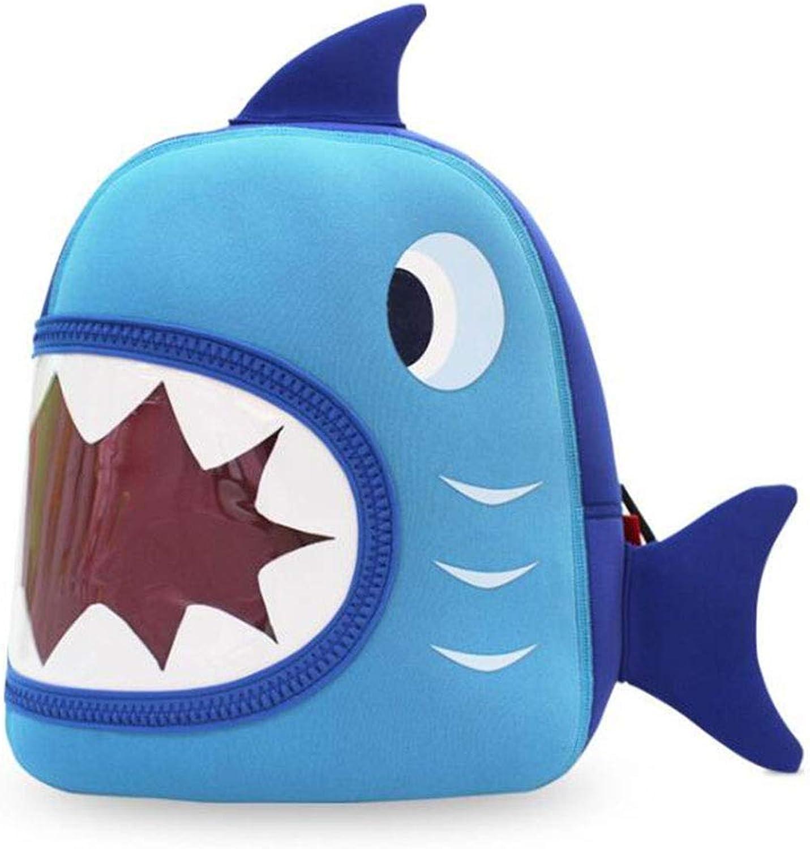 LLU Rucksack Kinderkmme rotuzieren atmungsaktiv atmungsaktive Schultasche Mesh hochelastischen Stoff Rucksack Rucksack für 3-8 Jahre alt, Blau