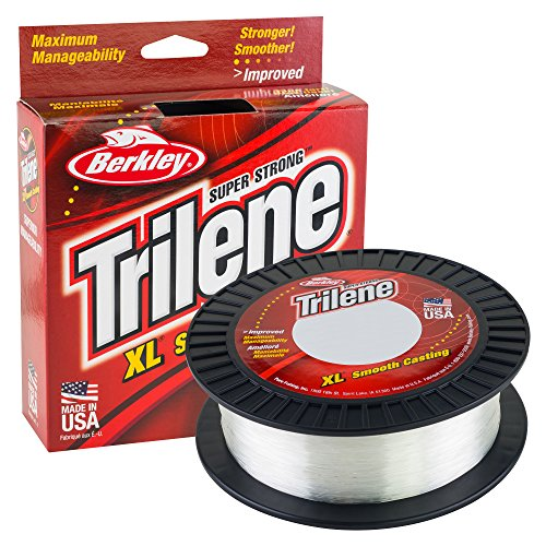 Berkley Trilene XL Smooth Casting Monofilament Service Spools (XLEP14-15), 1000 Yd, pound test...