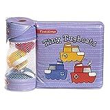 Melissa & Doug Children's Book - Float-Alongs: Tiny Tugboats (Bath Book + 3...