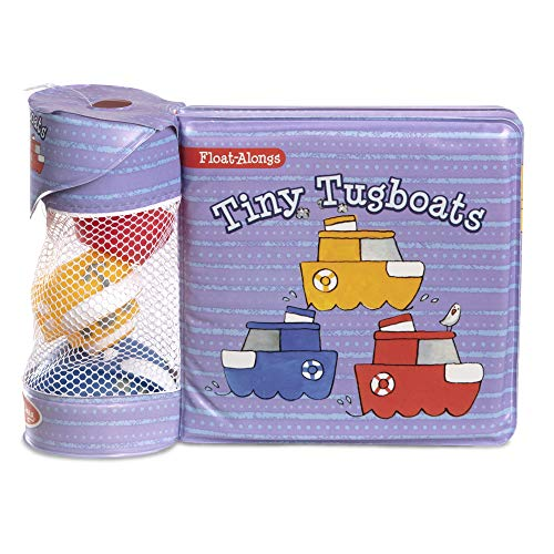 Melissa & Doug Children's Book - Float-Alongs: Tiny Tugboats