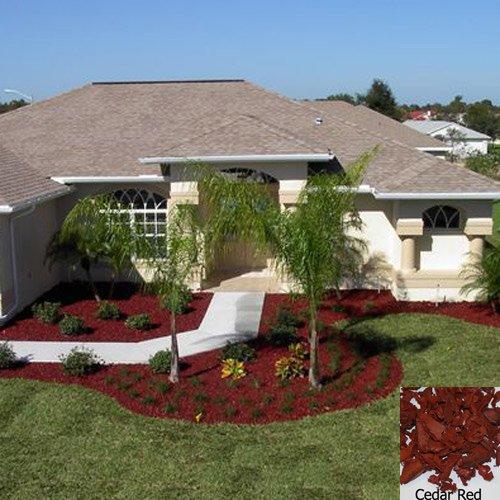 Amazon Com Yardwise Rubber Landscape Mulch Multiple Colors Red