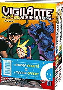 Vigilante : My Hero Academia Illegals Pack offre découverte Tomes 1 & 2