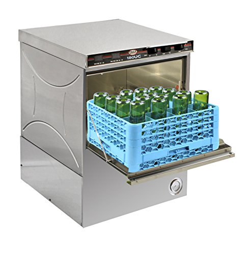 CMA DIshmachines 1665.77 CMA-180 UC Growler Washer with Chemical Dispensers and Wine Bottle Rack