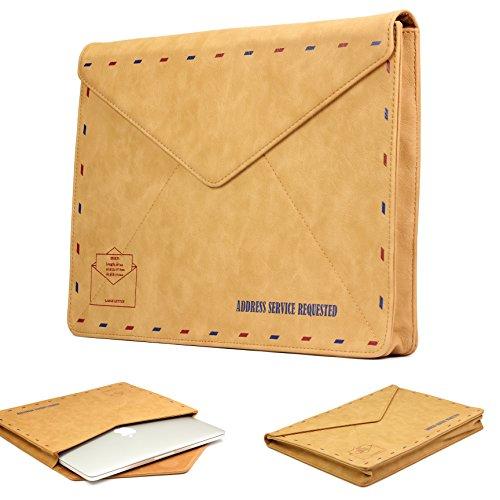 Urcover MacBook 15 Zoll (46 cm) MacBook Pro Retina Sleeve Hülle Tasche Ultrabook Laptop Schutz-Tasche für Apple MacBook sowie iPad & Tablet bis Lenovo Yoga 500 im Postkarten Design