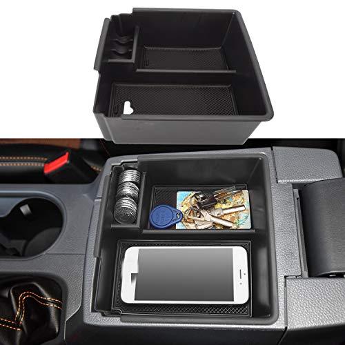 LITTOU Mittelkonsole Armlehne Aufbewahrungsbox Handschuh Box Einsatz Organizer Tablett Kompatibel für Ranger 2016 - 2018