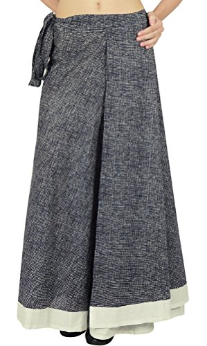 Phagun Einzelne Schicht Kleid Baumwolle Wrap Gedruckt Rock Größe Langen Sari Sarong