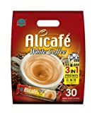 2-Pack / Malaysia Alicafe 3 In 1 Premix Instant White Coffee / Rich Smooth / Great Quick Coffee Fix That Gives You Extra Zing To Your Day / (30 sachets x 20g/pack)