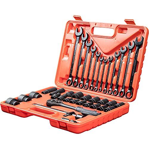 WMC TOOLS Steckschlüsselsatz Werkzeug...
