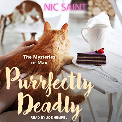 Purrfectly Deadly audiobook cover art