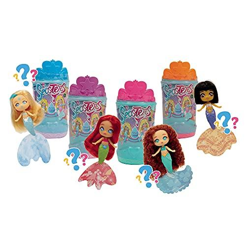 Seasters Magiche Principesse Sirene trasformabili, per bambini a partire da 3 anni, EAT00110, Giochi Preziosi