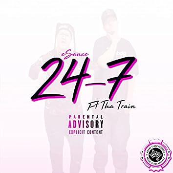 24-7 (feat. Tha Train)