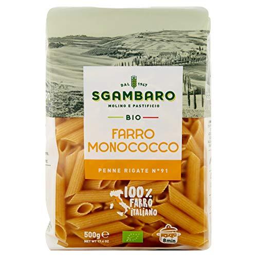 Pasta Sgambaro - Penne Rigate - Farro Monococco Bio - 500 gr