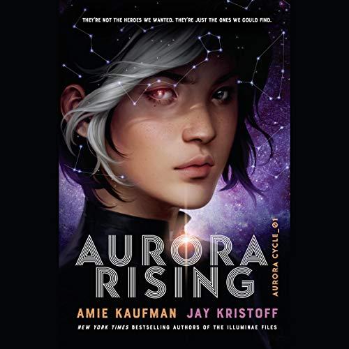 Aurora Rising audiobook cover art
