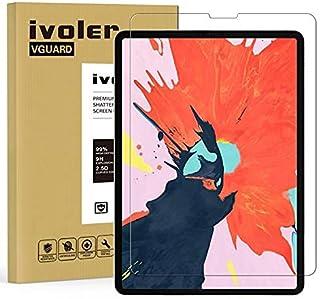 ivoler Skärmskydd för iPad Air 4 11 tum 2020 och iPad Pro 11 tum (2021 och 2020 och 2018 utgåva), härdat glasfilm, 9H hård...