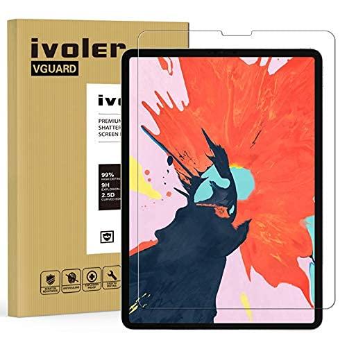 ivoler Protector de Pantalla para iPad Air 4 10,9 Pulgadas, iPad Pro 11 Pulgadas (2021, 2020 y 2018 Modelo), Cristal Vidrio Templado Premium, 9H Dureza, Antiarañazos, Sin Burbujas