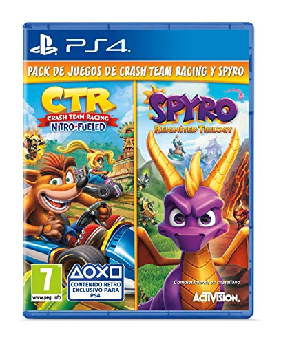 Crash Team Racing Nitro Fueled + Spyro Reignited Trilogy bundle (Edición Exclusiva Amazon)