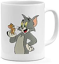 Classic Cartoon 11oz Coffee Mug Tom and Jerry 11oz Ceramic Novelty Mug