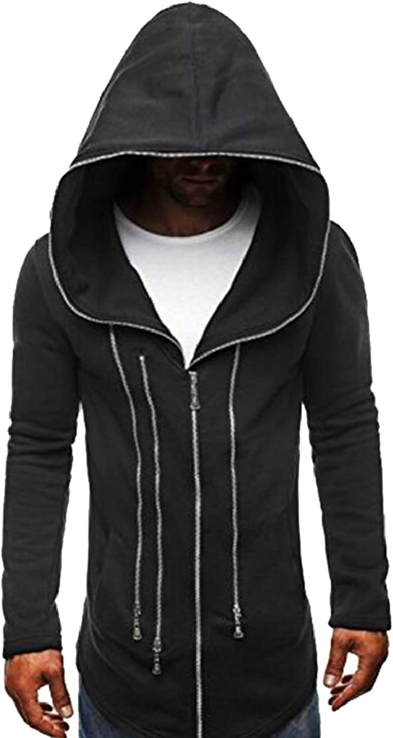778e9c66a6e9c GAGA Men Fashion Long Long Long Sleeve Hoodie Hooded Sweatshirt Tops ...