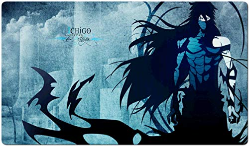545038 - Bleach Mouse Pad Gaming Large Table Mats (23.6×13.8 in / 60x35 cm) Support Customized Mouse Mat,Extended Mouse Mats Non-Slip Spill-Resistant Desk Pads Keyboard Pad