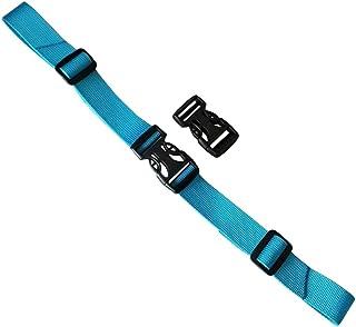 Practical Backpack Belt Buckle Belt Adjustable Non-Slip Belt-Light Blue