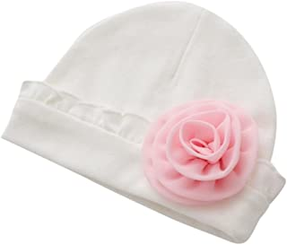 Bonnet De Soleil Ete Naissance Bebe Fille Blanc En Broderie Anglaise Coton Clothing, Shoes & Accessories