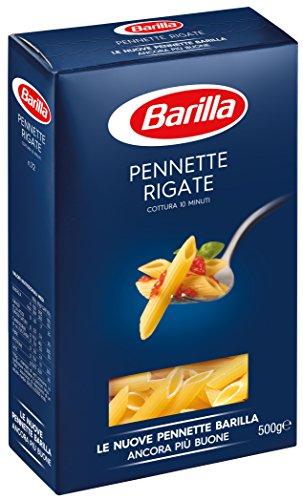 Barilla Pasta Pennette Rigate, Cottura 10 minuti, 500 g