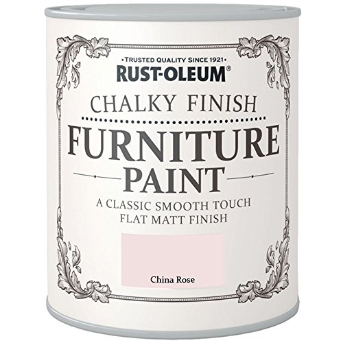 Rust-Oleum Chalk Chalky Furniture Paint China Rose 750ML by Rustoleum