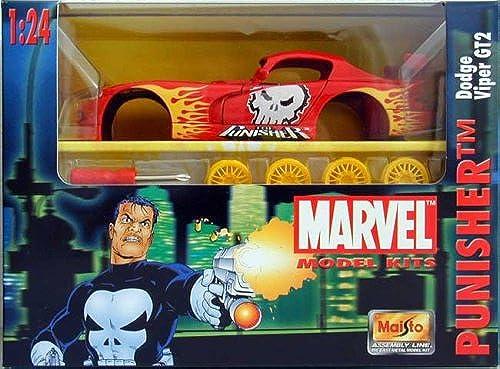 Marvel 2002 - Model Kits 1 24 - Dodge Viper GT2 PUNISHER