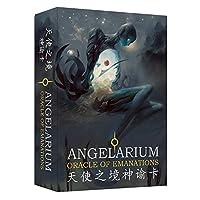 Angel Realm Oracleカードタロットカード周辺部の占いゲームカード